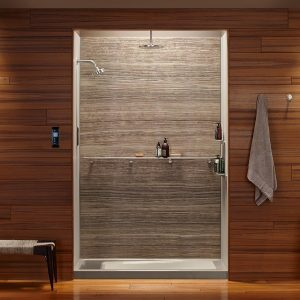 Kohler S Cograph Is A Collection Of Stunning Stone Resin Composite Shower Walls That Offer Unique Look And Feel For The Bathing Area