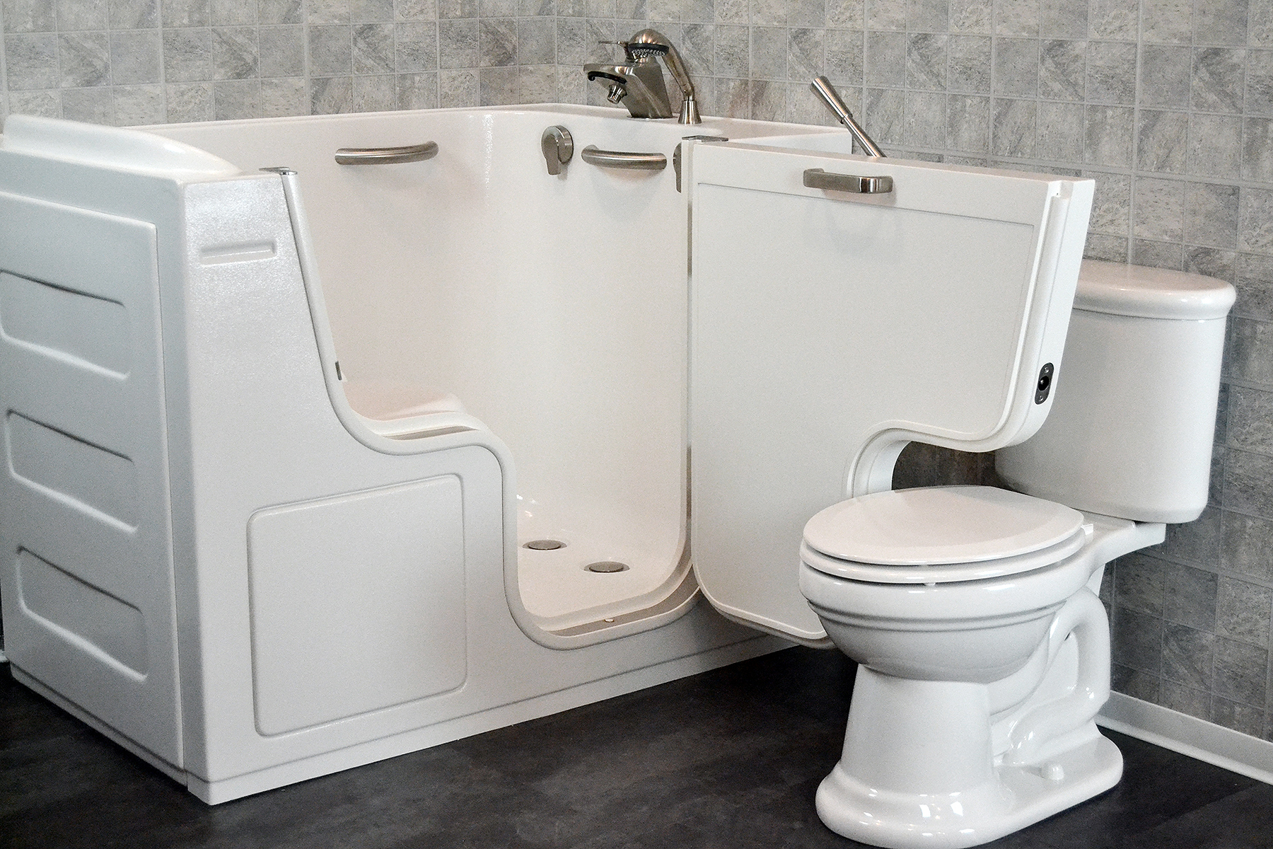 For Senior Citizens, As Well As Mobility Challenged, Handicapped, And  Special Needs Persons In The Houston Area, We Offer Walk In Tubs From  SanSpa.